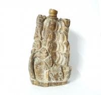 versteinertes Holz Räucherstäbchenhalter ca. 14,5 x 8,5 cm / Einzelstück