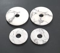 3er Set 30 mm Magnesit Donut Anhänger