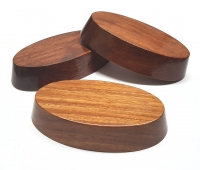 3er Set kleine Präsentations - Podeste aus Holz ca. 95 x 50 x 19 mm - Sonderposten