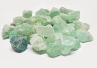 Fluorit Rohsteine / Dekosteine ca. 2 bis 4 cm / 1000 Gramm aus China