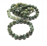 Jadeit - Jade Kugelarmband ca. 10-11 mm / ca. 19 cm