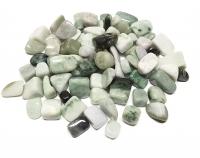 Jade ( Jadeit ) Trommelsteine Gr. S-L aus Myanmar / Burma ca. 500 gr.