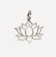 Lotusblume aus 925 Silber ca. 28x24 mm