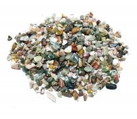 Ozean Jaspis - Trommelsteine / Chips ca. 3-10 mm / ca. 500 Gramm