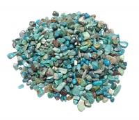Chrysokoll - Trommelsteine / Chips ca. 3-10 mm / ca. 500 Gramm