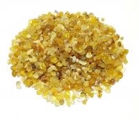 Opal gelb - Trommelsteine / Chips ca. 3-10 mm / ca. 500 Gramm