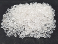 Bergkristall Mini Chips Trommelsteine ca. 4-10 mm / ca. 1000 Gramm in A-Qualität