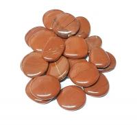 roter JaspisScheibensteine / Taschensteine- ca. 500 gr.