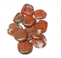 BreckzienjaspisScheibensteine / Taschensteine- ca. 500 gr.