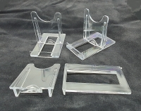 10er Set Schiebeständer zur Dekoration für z.B. Achatplatten