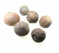 Moqui Marbles Paar aus den USA ca. 35 bis 40 mm / ca. 100-150 Gramm je Paar