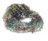 Turmalin Kristall Halskette multicolor ca. 5-10 mm / 45 cm mit Silberkarabiner