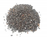 Hämatit Chips 1-4 mm Sand - B-Qualität mit Fremdkörper und Schleifresten