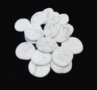 MagnesitScheibensteine / Taschensteine- ca. 500 gr.