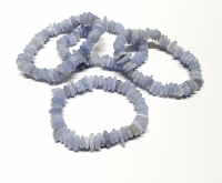 Chalcedon Scheiben - Armband ca. 8-12 mm / ca. 19 cm