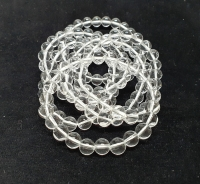 Bergkristall Kugelarmband ca. 8 mm / ca. 19 cm