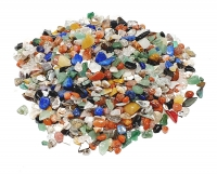 5 Kg Trommelstein Mix bunt mini Sand ca. 3-8 mm