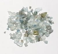 Aquamarin Rohstein - Sammlung ca. 44 Gramm / ca. 5-15 mm