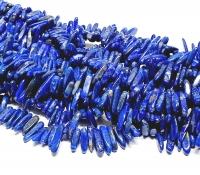 Lapislazuli Splitterstrang ca. 13 - 20 mm / ca. 40 cm