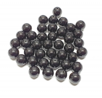 ObsidianKugelstrang (40 Perlen einzeln - nicht aufgereiht) ca. 10mm / ca. 40 cm