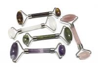 Labradorit Tropfenkette ca. 8-10 mm / ca. 45 cm mit 925 Silberkarabiner
