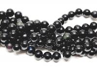 Regenbogen - ObsidianKugelstrangca. 10mm / ca. 40 cm