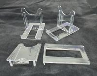 10er Set Schiebeständer Mittel ca. 7,5x9 cm zur Dekoration für z.B. Achatplatten