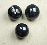 Schörl ( schwarzer Turmalin ) Kugel ca. 60 - 65 mm / ca. 300-400 Gramm