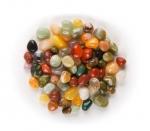5 KG Trommelstein Mix 12-15 mm aus Indien