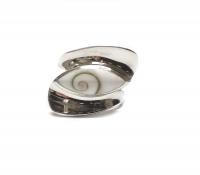 Operculum - Fingerring in 925 Silber Größe: ca. 17 mm