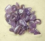 Amethyst transparent Trommelsteine aus Bolivien VE = 500 gr.