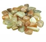 L - Mondstein Trommelsteine aus Indien - ca. 500 Gramm