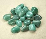 grüner Aventurin Trommelsteine aus Brasilien VE = 500 gr.