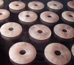 3er Set Rosenquarz - Donut 50 mm
