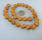 Blumenstrang Landschaftsjaspis 14 mm / 40 cm