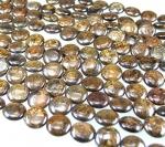 Bronzit Discstrang ca. 12 mm / ca. 40 cm