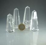 Bergkristall Obelisk A-Qualität ca. 70-100 mm