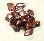 rotes Tigerauge Trommelsteine aus Süd-Afrika VE = 500 gr.