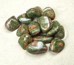 Unakit Trommelsteine aus Süd-Afrika VE = 500 gr.