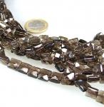 Saphir Buttonstrang fac ca. 2,0-2,5 bis 4,5-5,0 mm verl. / 40 cm