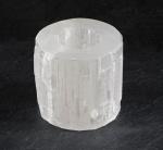 SELENIT (weiß) - Teelichthalter ca. 0,7 - 1,0 KG