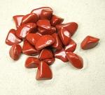 roter Jaspis Trommelsteine aus Süd-Afrika VE = 500 gr.