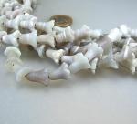 Botswana Achat Blumenkelchstrang matt ca. 13 mm / 40 cm